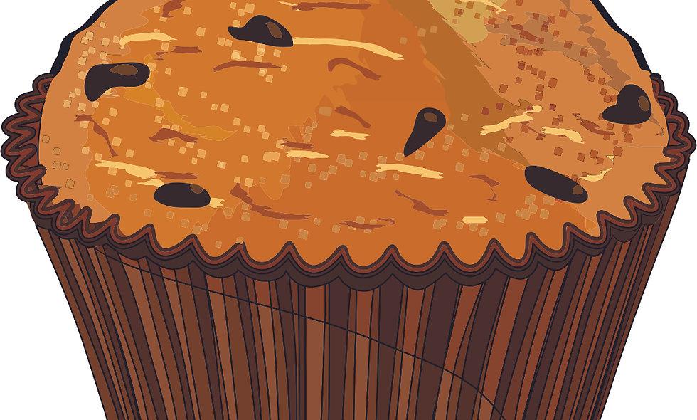 Cinnamon Crumb Muffin
