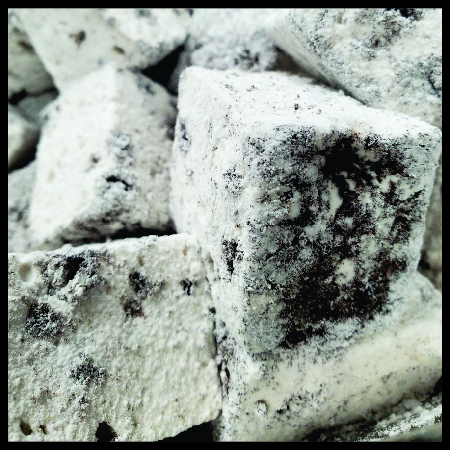 Cookies and cream mallow