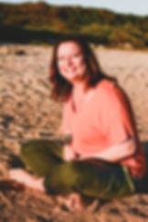 Bianca on the beach