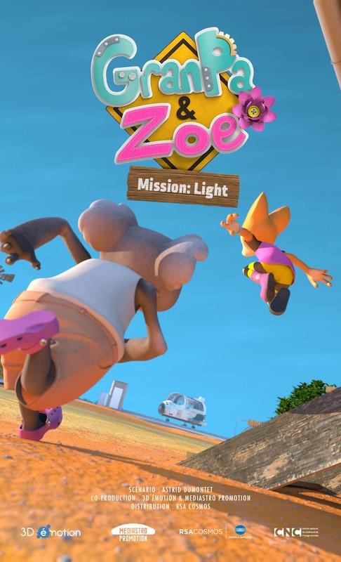 GranPa & Zoe Mission: Light Poster