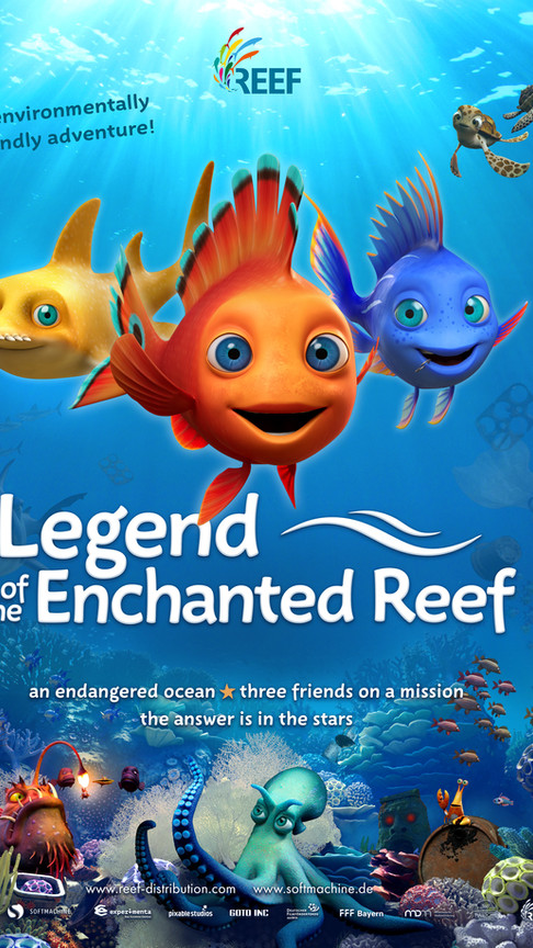 Legend of the Enchanted Reef Poster