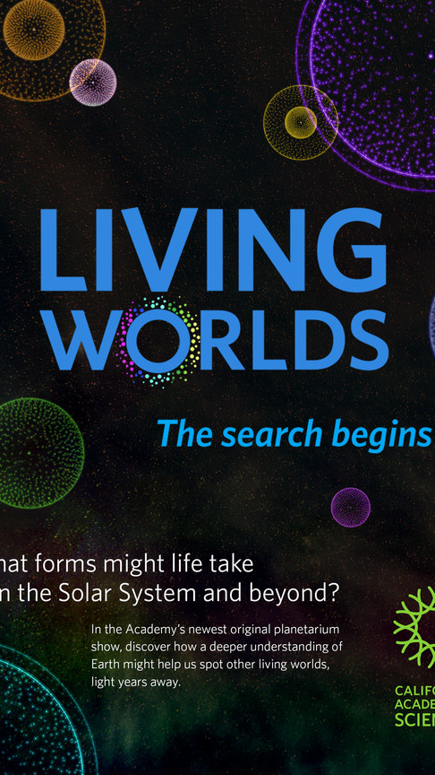 Living Worlds Poster