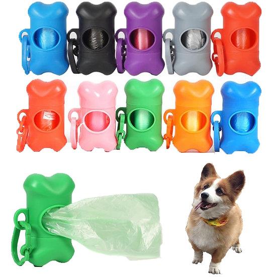 Puppy Dog Poop Bag Dispenser Holder 8 colours