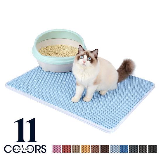 Double Layer Non-Slip  Waterproof Pet Cat Litter Mat
