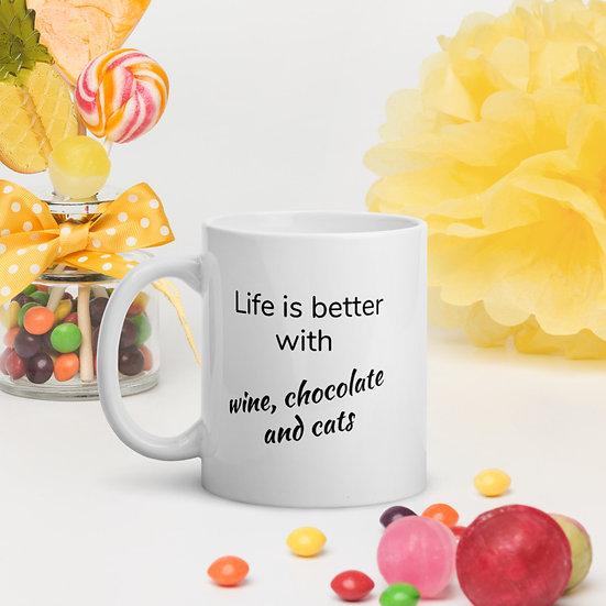 Life is Better with Coffee Mug Tea Cup