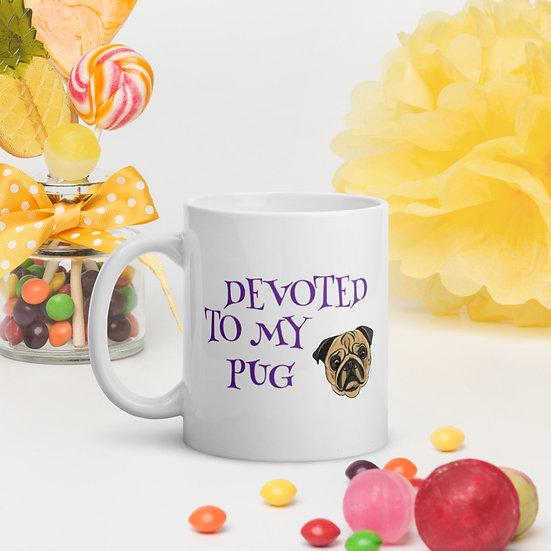 Pug Coffee Mug Cup Gift 11oz 15oz