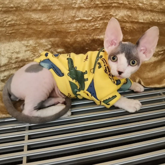 Pet Cat Puppy Sweater excellent for Sphynx & Shorthair Breeds