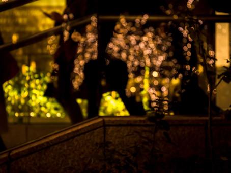 京橋縁カレッジ クリスマスイルミネーション撮影講座