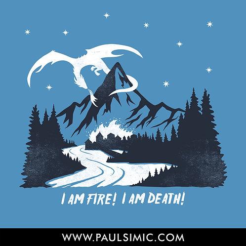 Smaug - I AM FIRE   T-Shirt
