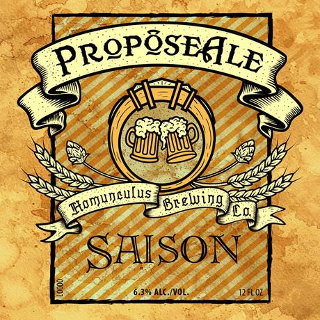 ProposeAle - Label & Package Design