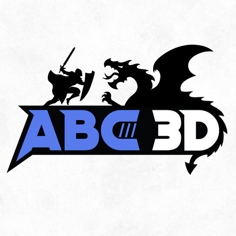 ABC3D Logo Design