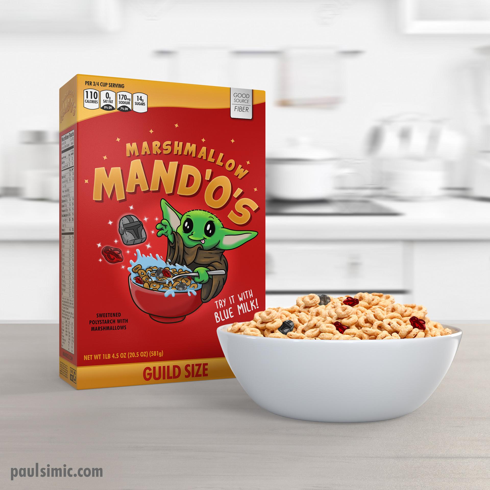 Marshmallow Mandos Mockup