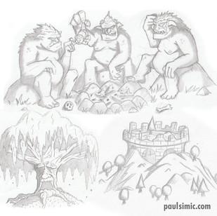 Trolls, Old Man Willow, Weathertop