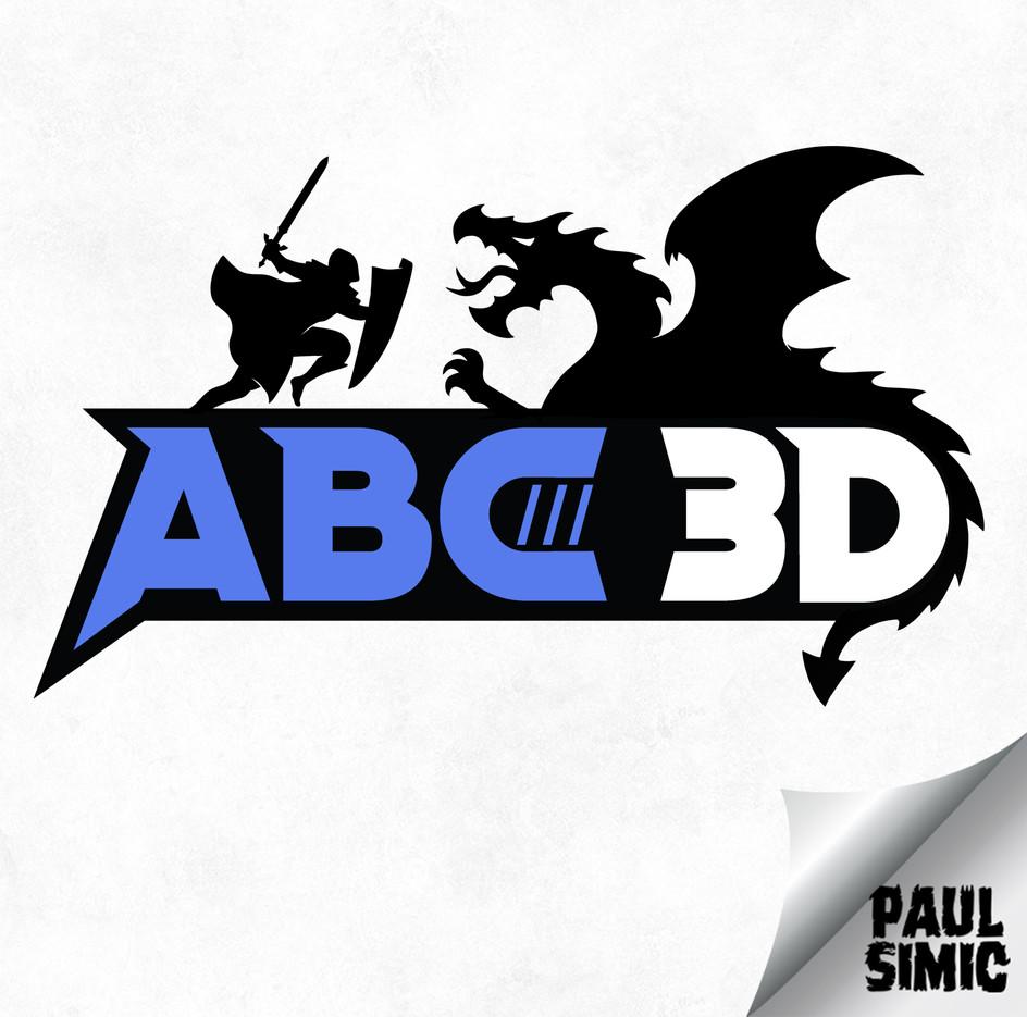 ABC3D Logo
