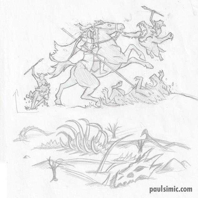 Horsmen of Rohan, Bones of Smaug