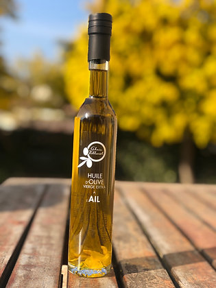 Huile d'olive à l'ail 250 ml
