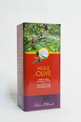 Huile d'olive vierge extra extraite à froid: bidon 5 litres