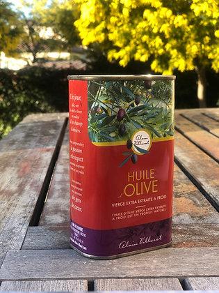 Huile d'olive vierge extra extraite à froid: bidon 50cl
