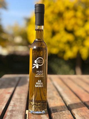 huile d'olive ail persil basilic 250 ml