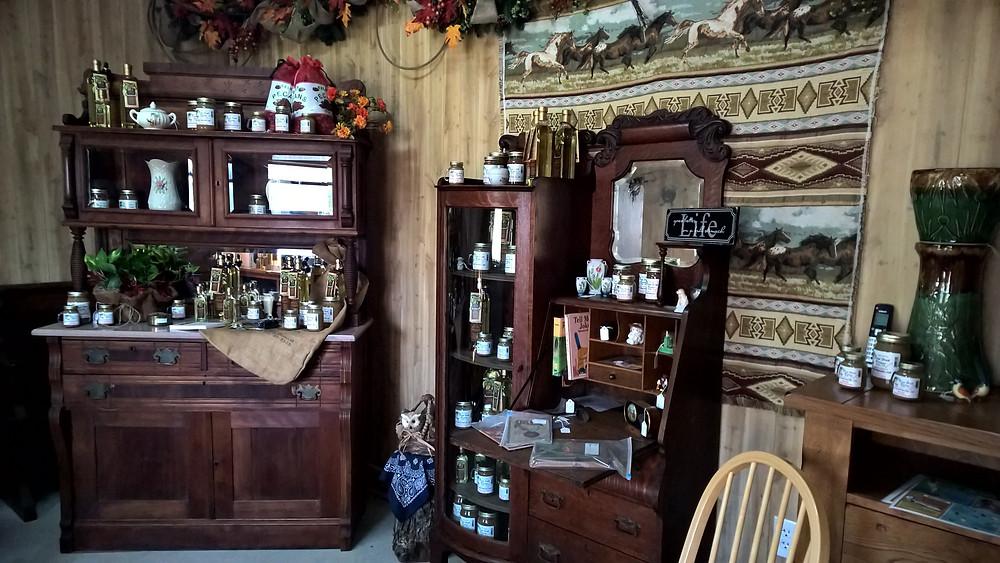 Inside General Store - Deep Fork Pecans
