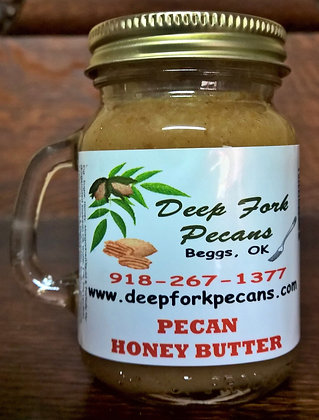 4oz Pecan Honey Butter