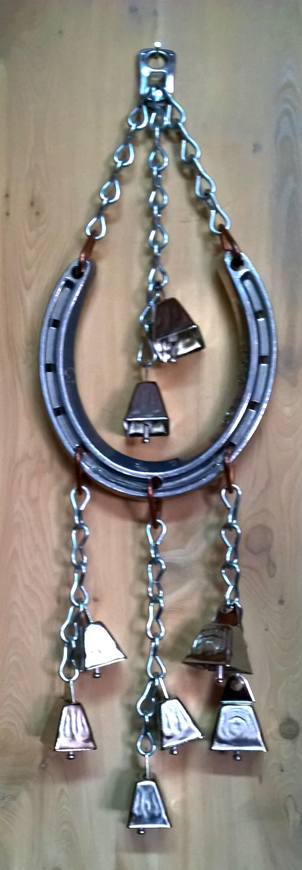 Thoroughbred Horse Shoe Wind Chime