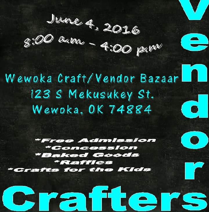 Wewoka Craft/Vendor Bazaar