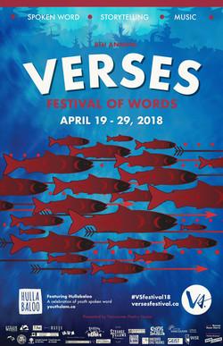 Verses Festival 2018 branding elemen