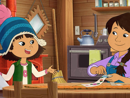 """Voicing 'Dad' On """"Molly Of Denali"""""""
