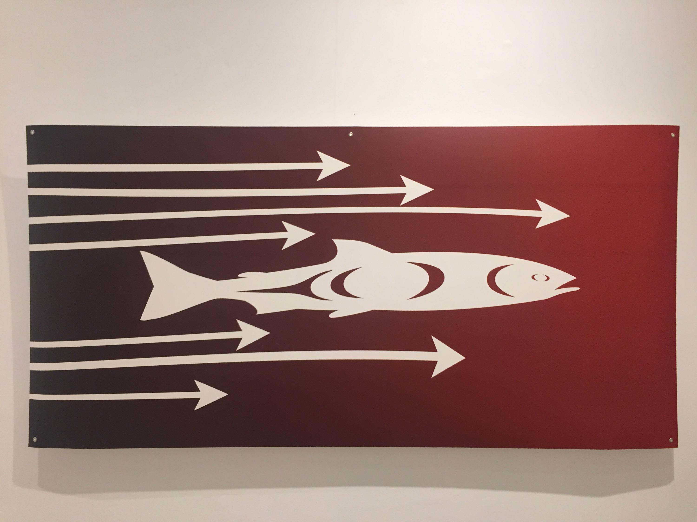 Salmon Arrow Streamer