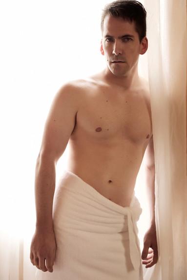 tasteful boudoir photography for men