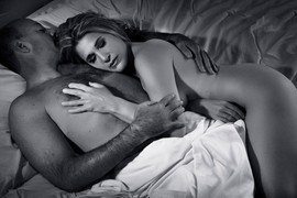 black white couples boudoir photos