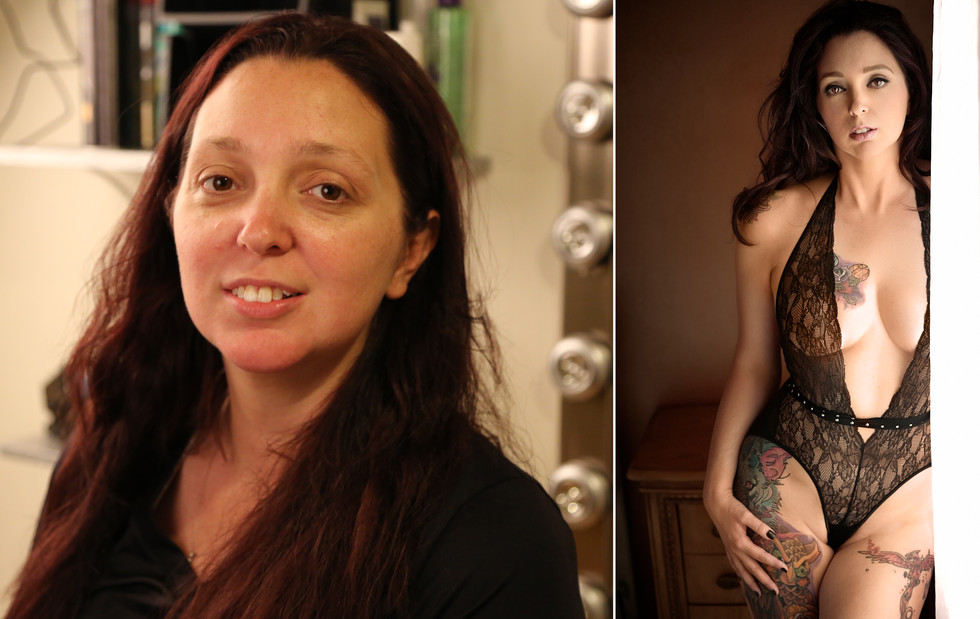 before and after photography sexy pics