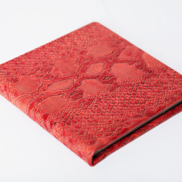 Designer Series Integrity Album - Python Dark Coral