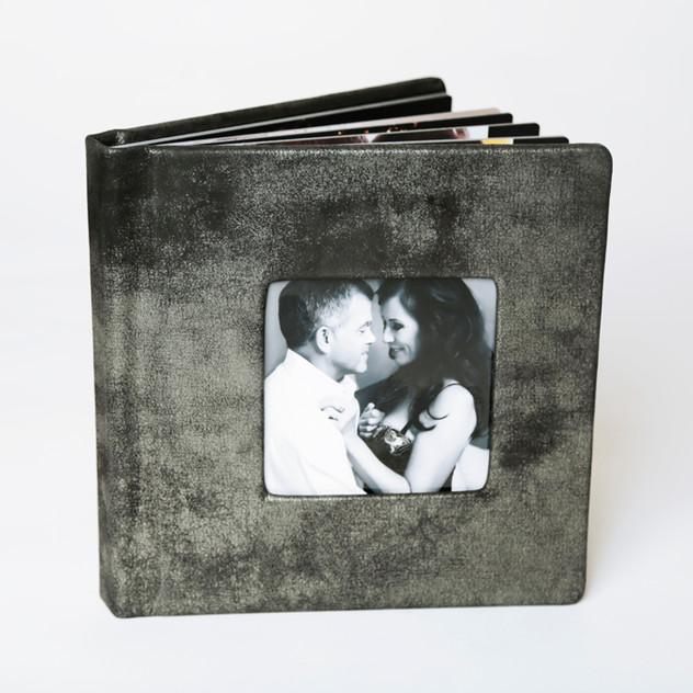 Designer Series Integrity Album - Concrete with cameo