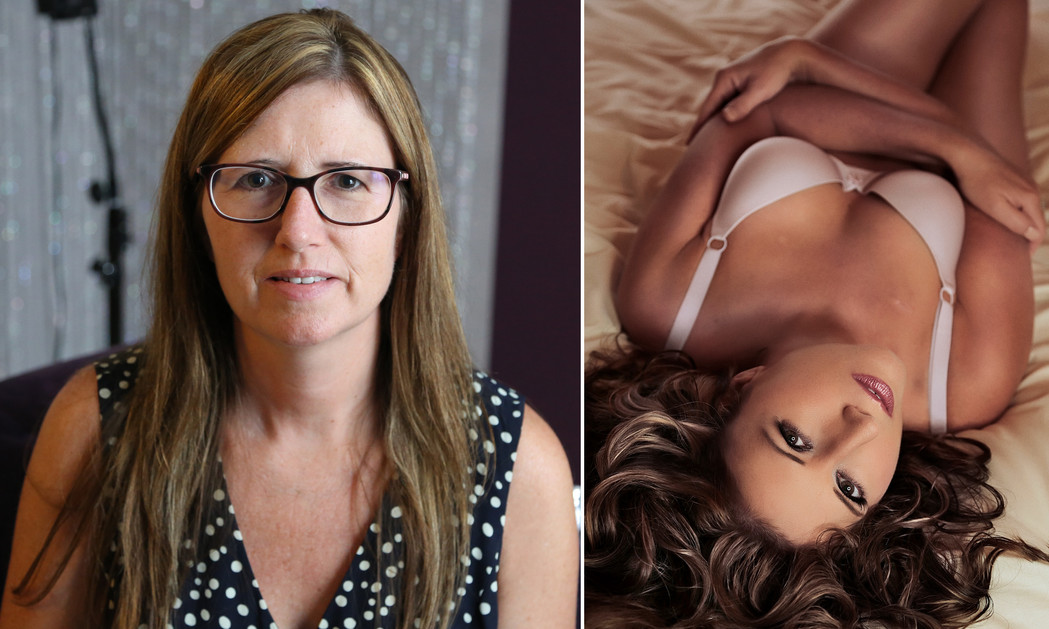 maryland boudoir photos before after