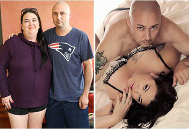 Before After Couples Boudoir Photography