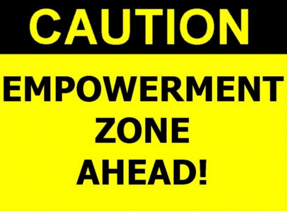 Female Empowerment through Boudoir Photography. Caution: Empowerment Zone Ahead.