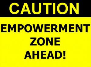 Female Empowerment through Boudoir Photography. Caution: Empowerment Zone Ahead.
