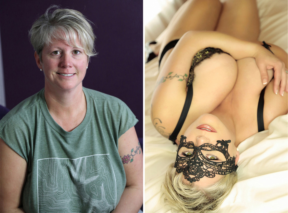 before after boudoir pictures philly