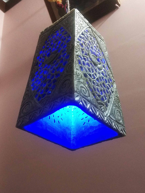 Stone Carved Pendant Lamp
