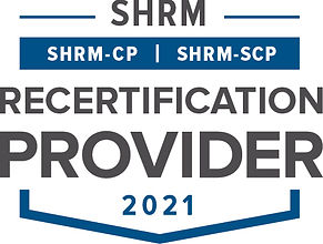 SHRM Recertification Provider Seal 2021