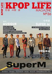 Kpop Life Magazine 36 Super M
