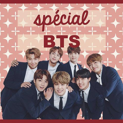 "PACK KPOP LIFE spécial ""BTS"""