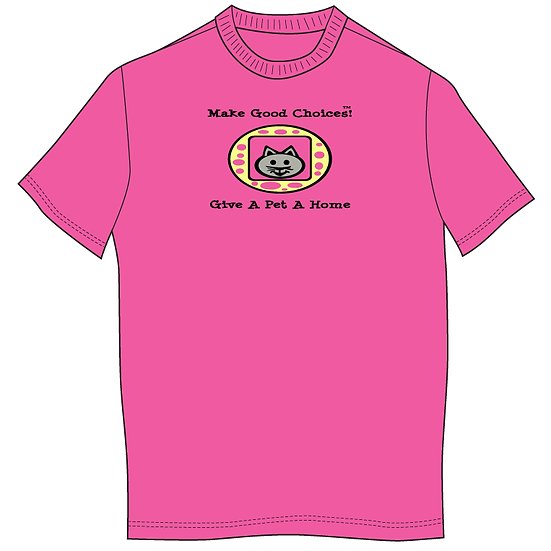 MGC T-Shirt Cat Give A Pet A Home