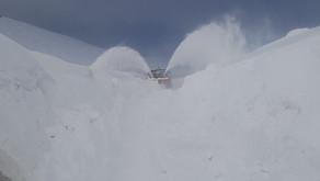 Neve e ghiaccio sul 90% delle strade provinciali