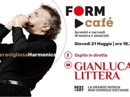 A FORM Café c'è Gianluca Littera con MeravigliosaHarmonica