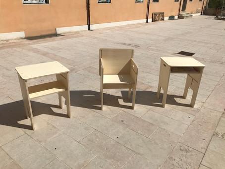 Ritorno a scuola: nuovi banchi con la vernice igienizzante ICA