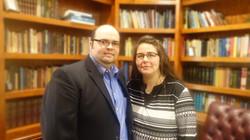Jeremy and Sarah Powers