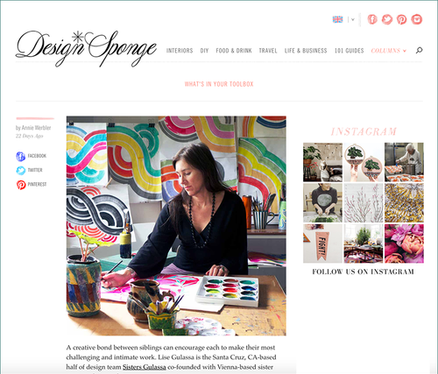 """Design Sponge feature """"What's in Your Toolbox"""""""